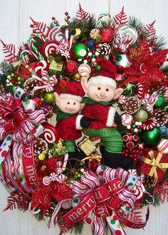 Christmas Wreath    THE ELVES.