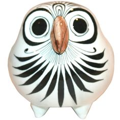 Garland Collects vintage Mexican Pottery Owl