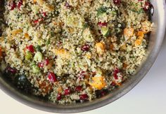 Your Healthier Thanksgiving: Zucchini, Squash, and Mint Quinoa Stuffing