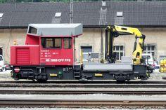 SBB Tm 234 204 at Erstfeld on 4 June 2014.