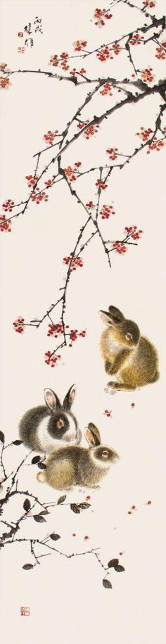 """方楚雄 (Fang Chuxiong), """"Rabbits"""""""