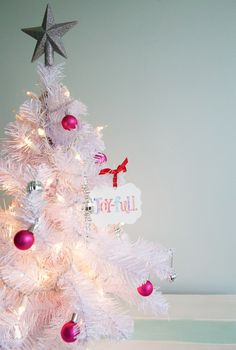 available in our studio now - joy-full christmas ornament - the handmade home