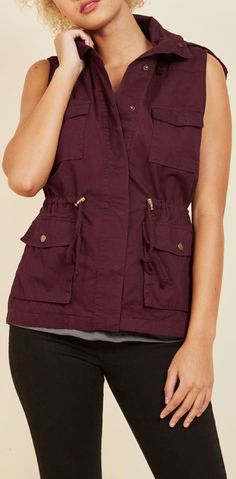 I cargo vests like this that don't have crazy pockets up top! Not trying to look like I'm fishing/on safari.