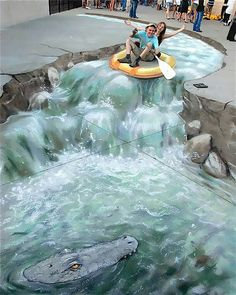 Funny pictures about Street art taken to a whole new level. Oh, and cool pics about Street art taken to a whole new level. Also, Street art taken to a whole new level.