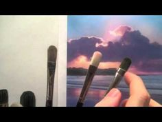 How to choose acrylic paint brushes - Acrylic painting techniques - YouTube