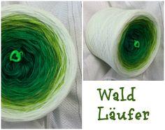 Waldläufer: Hochbauschacryl 7 Farben (Mix) dunkelgrün grasgrün grün froschgrün apfelgrün lindgrün weiss