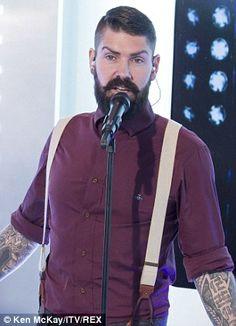 Shane Lynch reinvents himself as a hipster with big bushy facial hair