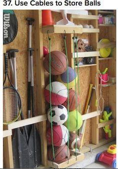 organize balls
