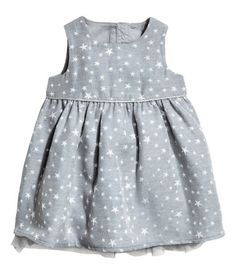 Glitterende jurk