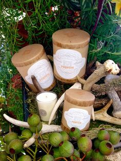 Linnea's Lights hand-poured pumpkin soy candles smell divine. The shop is filled with the scent of autumn today!