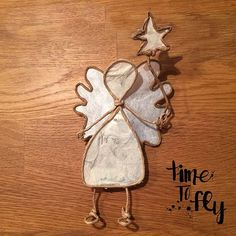 Gesehen und verliebt - in diesen hübschen Engel aus Papierdraht. Gefunden in der D.I.Y. - Das Kreativmagazinvon TOPPDer Engel ist etwas pfriemelig in der Herstellung aber das Ergebnis entzückend