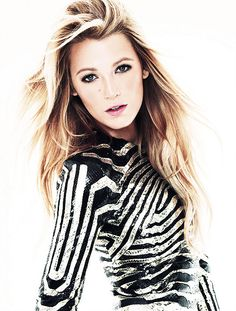 """Blake Lively. #BlakeLively. """"View every piece of coal as the potential diamond in rough. Goodness and Beauty do exist in every being."""" - Deodatta V. Shenai-Khatkhate. March 2012: Blake Lively"""