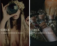 circe (Κίρκη) - greek goddess/sorceress of magic Greek And Roman Mythology, Greek Gods And Goddesses, Names Of Goddesses, Greek Goddess Of Magic, Names With Meaning, Goddess Names And Meanings, Aesthetic Names, Fantasy Names, Greek Names