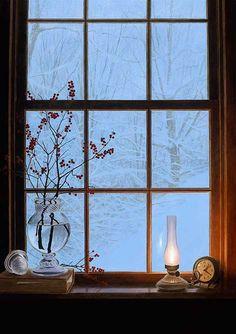 winter-window Alexander Volkov