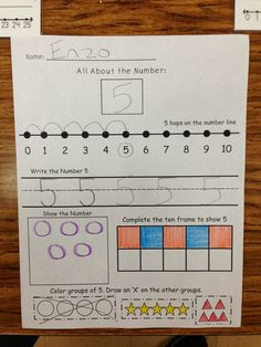 Number 5 with Five Little Ducks - A Spoonful of Learning Five Little Pumpkins, Math Groups, Number Activities, Little Duck, Common Core Math, Number 5, Teaching Kindergarten, Ducks, Learning