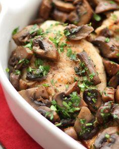 Chicken with Mushroo