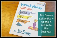 Design your own Dr. Seuss-style vehicles.