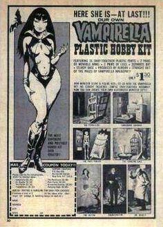 Vampirella Plastic Hobby Kit - ad