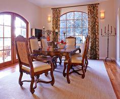 Design by Nicole Yee www.nicoleyee.com Tuscan Dining Room