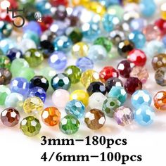 100X Plastic Crystal Ice Rocks Acrylic Transparent Gemstone Bracelets  with Hole