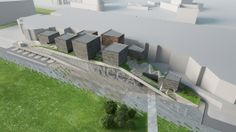 Three finalists for Moscow's New National Center for Contemporary Arts (NCCA)
