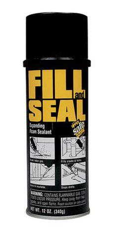 FILL and SEAL Expanding Foam Sealant - 12 oz at Menards
