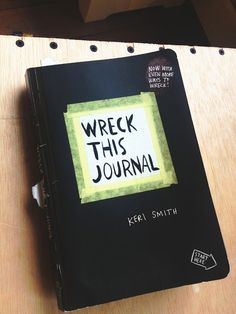 She writes: if you have a tween or teen, this would be a perfect gift for them. my daughter just got this book on tuesday and she has already broken the spine of the book, drawn with glue (the glitter kind, of course), ripped up one page and made a paper airplane with another and... she's taken it in the shower.
