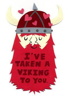 Viking valentine!