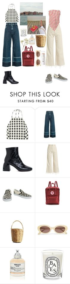 """summer bummer"" by rsussher ❤ liked on Polyvore featuring rag & bone, Rachel Comey, Sportmax, Vans, Fjällräven, Elizabeth and James, Maison Margiela and Diptyque"