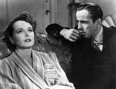 "Humphrey Bogart and Mary Astor, ""The Maltese Falcon"" (1941)."