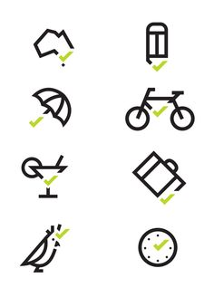 @chrismaclean200 and Joao Peres clever #pictograms from TQUAL for Tourism Quality on Behance