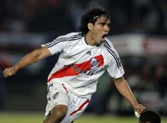 Radamel Falcao in the Club Atlético River Plate - Argentina