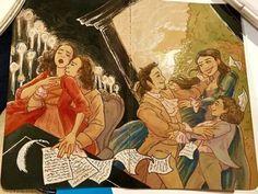 eliza and alexander hamilton Hamilton Broadway, Hamilton Musical, Hamilton Lin Manuel, Lin Manuel Miranda, Hamilton Wallpaper, Hamilton Comics, Hamilton Fanart, And Peggy, Alexander Hamilton