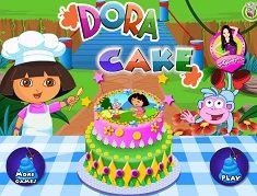 Gateste un Tort cu Dora