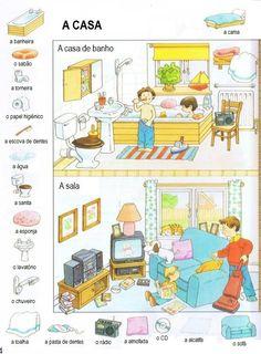 Vocabulário - Casa de banho / Sala
