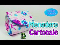 194. Manualidades: Como hacer monedero [Cartonaje] (Reciclaje) Ecobrisa