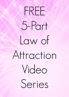 How the law of attraction really works. Click through for my FREE law of attraction 5 part video series with lots of tips to get the law of attraction work for you the way you want.