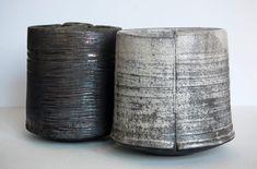 Ceramics by Stephen Murfitt at Studiopottery.co.uk - 2013. Small Vessels Height 14cm.