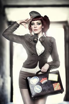 Taller Fantasia Barcelona in Showcase of Fashion Steampunk Photography