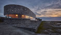 Inis Meáin Restaurant & Suites offers a remarkable, carefully designed experience on the remote, beautiful and windswept island of Inishmaan. Ruairí and Marie-Thérèse de Blacam's splendid and intimate enterprise is only a few years old – but is already famous for sky-high quality and immersive island magic. Sky High, Ireland, Remote, Restaurant, Magic, Building, Travel, Beautiful, Viajes