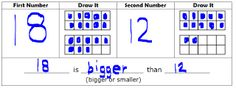 Math Coach's Corner: Comparing Numbers Using Ten-Frames