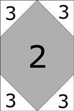 Goshen Star quilt block - side units