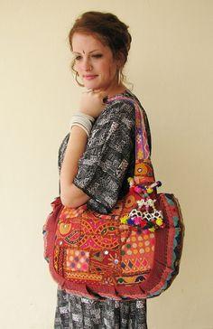 Boho Tribal bag by Lilac Skin Designs