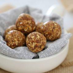 Nutty Date & Oat Energy Balls | 10 Minute Recipe