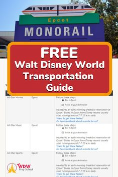 Whether you are trying to get to a park or to a resort for a dinner reservation, if you're new to Disney World it can be a bit tricky. Our handy (& FREE!) Transportation Guide will show you exactly how to get anywhere at Walt Disney World. Great Vacations, Disney Vacations, Disney Trips, Disney World Planning, Disney World Trip, How To Start Running, How To Get, How To Plan, Disney World Transportation