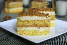 Prajitura Krantz cu lamaie | MiremircMiremirc Vanilla Cake, Tiramisu, Cakes, Ethnic Recipes, Desserts, Food, Tailgate Desserts, Deserts, Mudpie