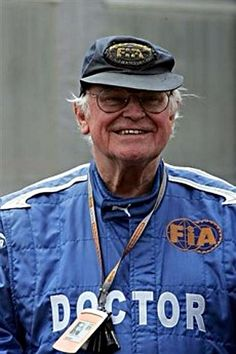 in 1928, legendary neurosurgeon and safety advocate Sid Watkins was born in Liverpool, England. He died on the 12th September 2012 in the age of 84.