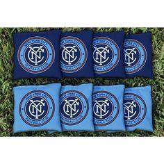 New York City FC Cornhole Bag Set