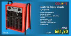Aeroterma electrica trifazata 4,5-9,0 kW RPL 9 FT CALORE