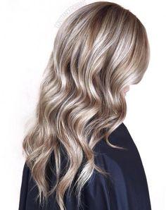 Silver Balayage For Light Brown Hair